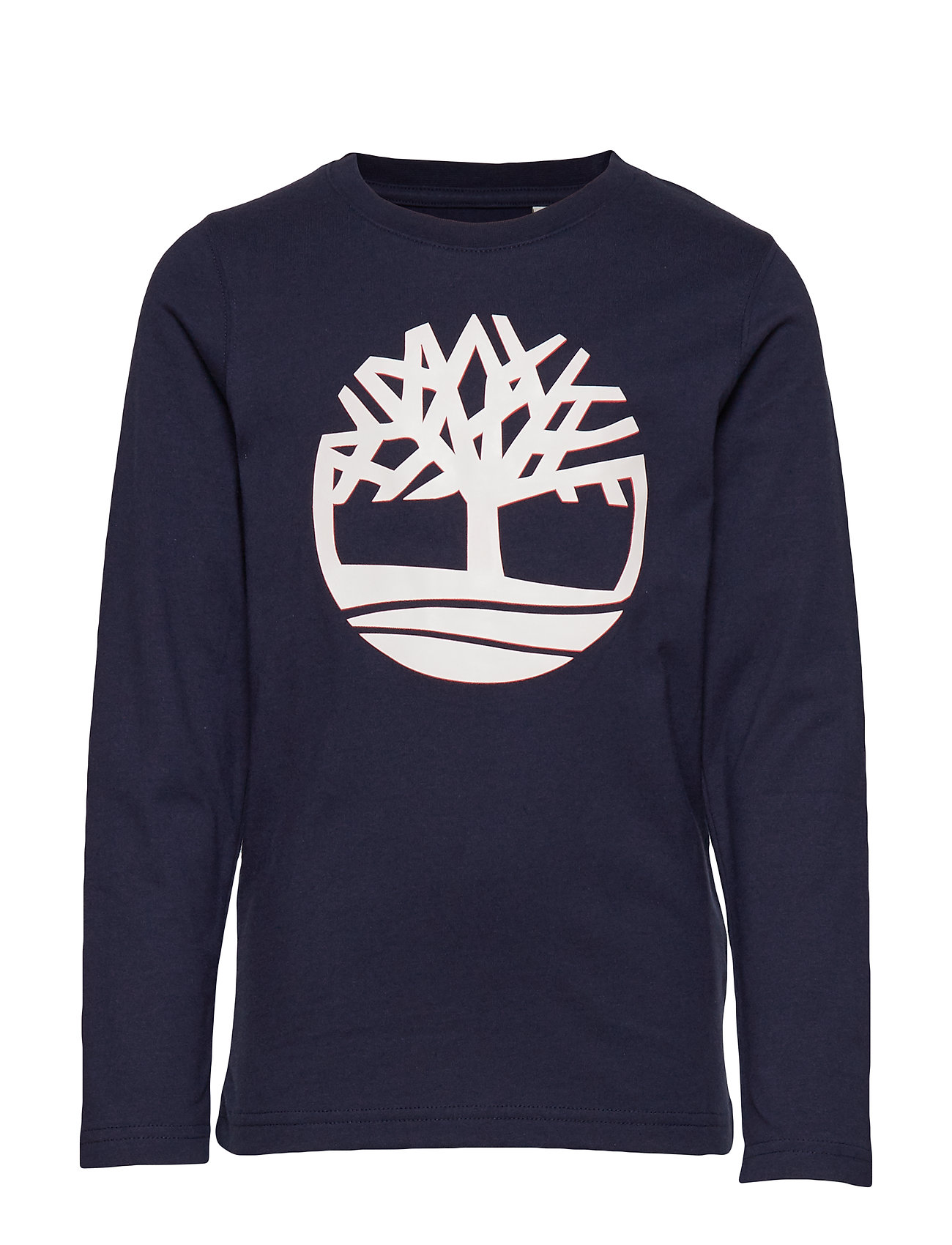 Timberland LONG SLEEVE T-SHIRT - NAVY