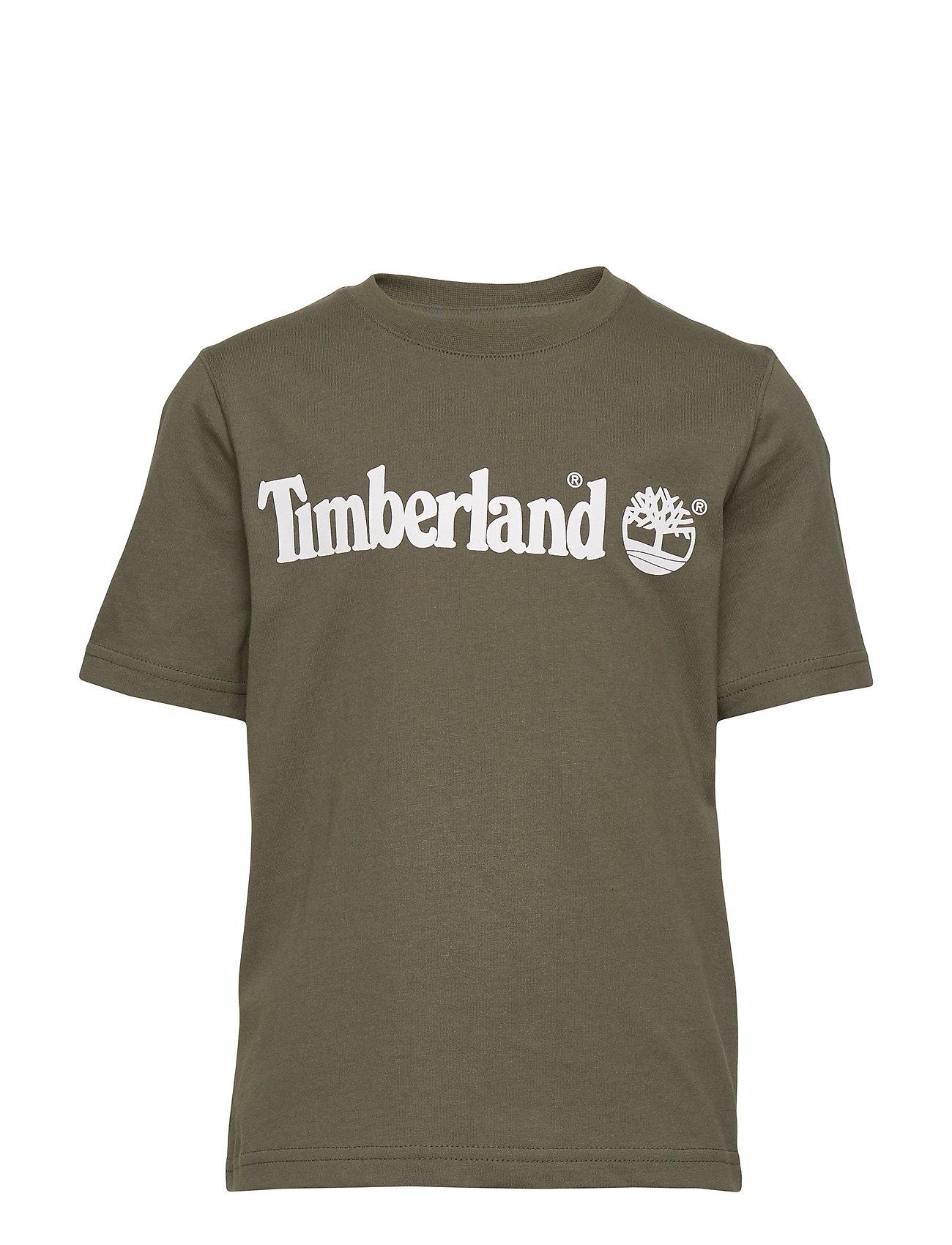 Timberland SHORT SLEEVES TEE-SHIRT - GREEN