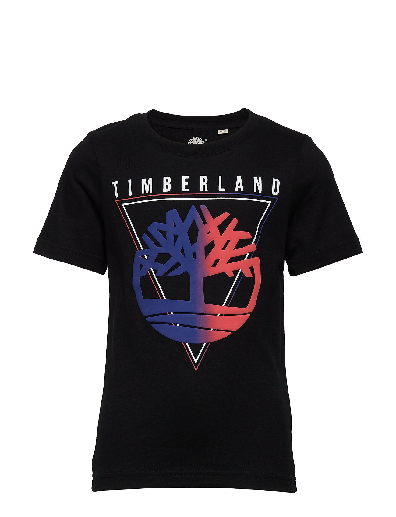 Timberland SHORT SLEEVES TEE-SHIRT - BLACK