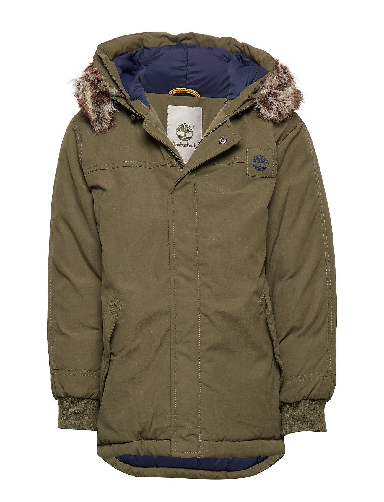 Habitar Faringe materno  Timberland Hooded Parka (Khaki), (74.50 €) | Large selection of  outlet-styles | Booztlet.com