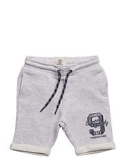 BERMUDA SHORTS - CHINE GREY