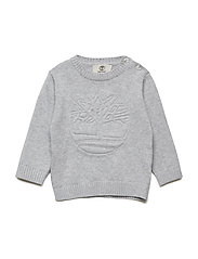 PULLOVER - CHINE GREY