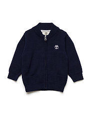 KNITTED CARDIGAN - NAVY