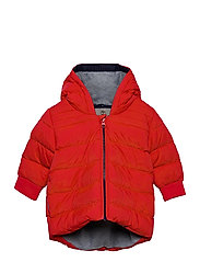 PUFFER JACKET - BRIGHT RED