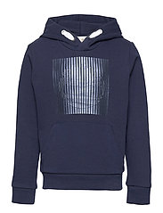 HOODED SWEATSHIRT - NAVY