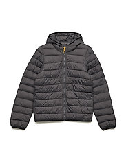 PUFFER JACKET - DARK GREY