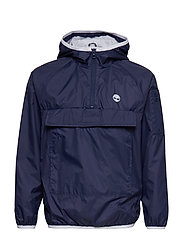 HOODED WINDBREAKER - NAVY