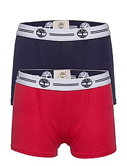 SET OF 2 BOXER SHORTS - RED/BLUE NAVY