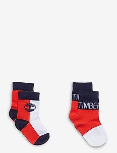 SET OF SOCKS - sokker - bright red