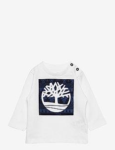 LONG SLEEVE T-SHIRT - langermede t-skjorter - white