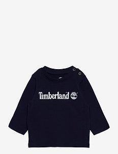 LONG SLEEVE T-SHIRT - langermede t-skjorter - navy