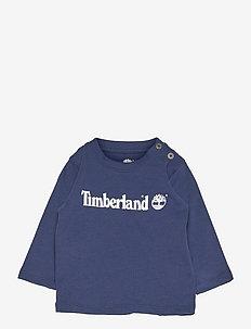 LONG SLEEVE T-SHIRT - long-sleeved t-shirts - navy