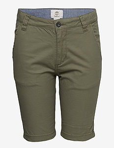BERMUDA SHORTS - GREEN
