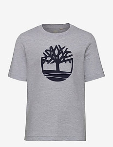 SHORT SLEEVES TEE-SHIRT - CHINE GREY