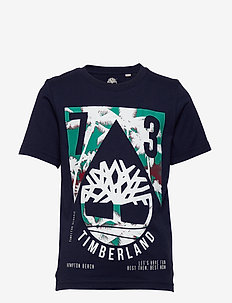 SHORT SLEEVES TEE-SHIRT - short-sleeved - navy