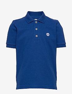 SHORT SLEEVE POLO - polo shirts - electric blue