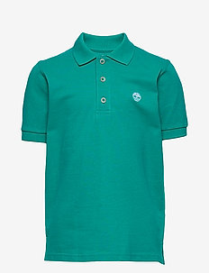 SHORT SLEEVE POLO - logo - new green