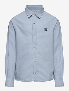 LONG SLEEVED SHIRT - shirts - pale blue