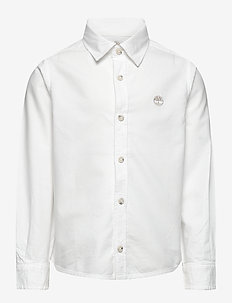 LONG SLEEVED SHIRT - shirts - white