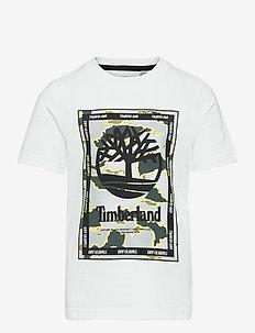 SHORT SLEEVES TEE-SHIRT - short-sleeved t-shirts - white
