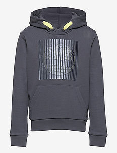 HOODED SWEATSHIRT - kapuzenpullover - medium grey