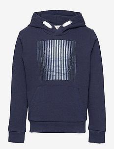 HOODED SWEATSHIRT - hoodies - navy
