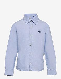 LONG SLEEVED SHIRT - shirts - pale blue