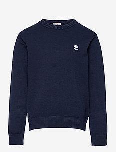 PULLOVER - knitwear - navy