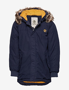 HOODED PARKA - NAVY