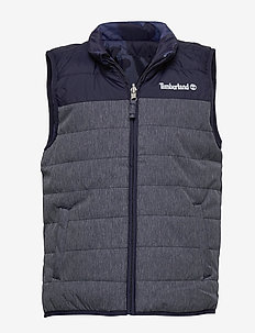 PUFFER JACKET SLEEVELESS - vests - unique