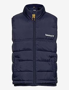 PUFFER JACKET SLEEVELESS - vester - navy