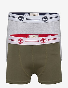 SET OF 2 BOXER SHORTS - KHAKI  GREY