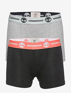 SET OF 2 BOXER SHORTS - bottoms - black/grey