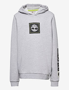 HOODED SWEATSHIRT - kapuzenpullover - chine grey