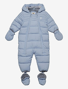 ALL IN ONE - snowsuit - pale blue