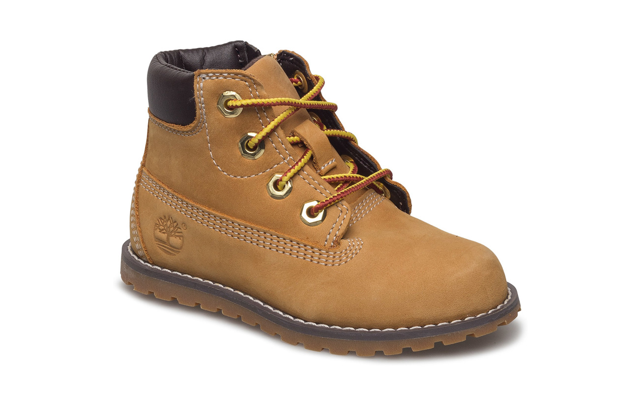 Timberland Pokey Pine 6In Boot with Side Zip - WHEAT