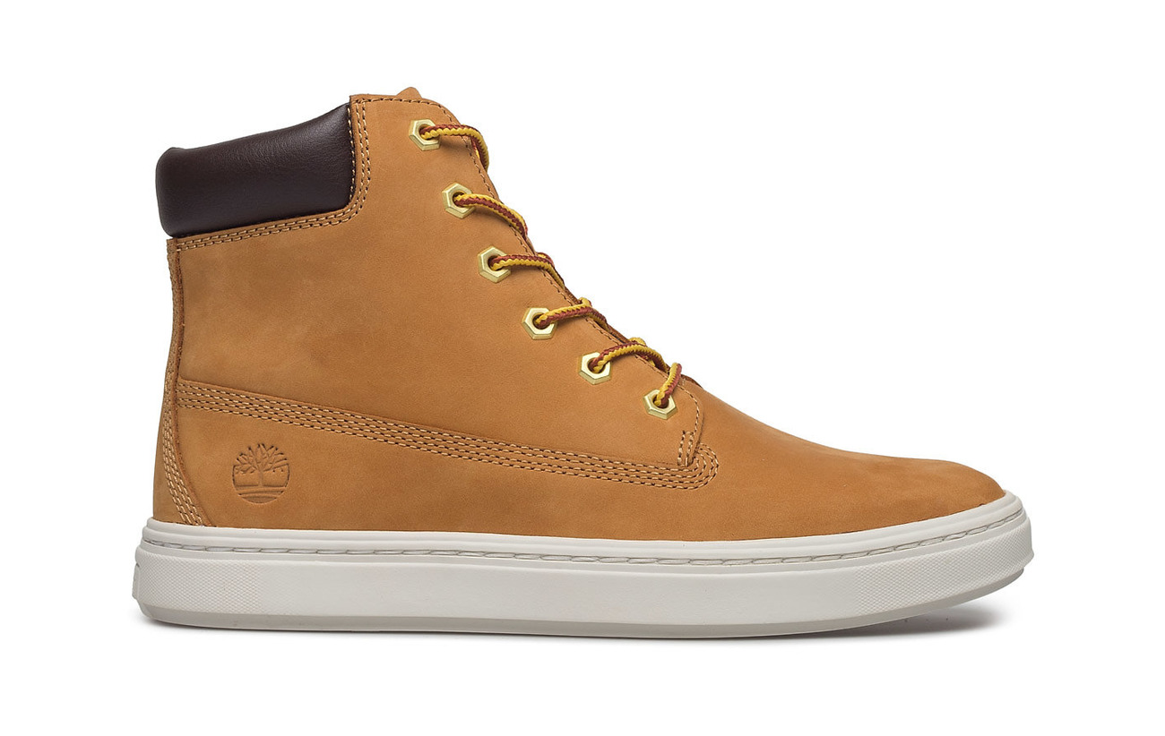Timberland Londyn Outsole 6in Wheat Partie Majority Synthetic Supérieure Caoutchouc Cuir AArqwdpS
