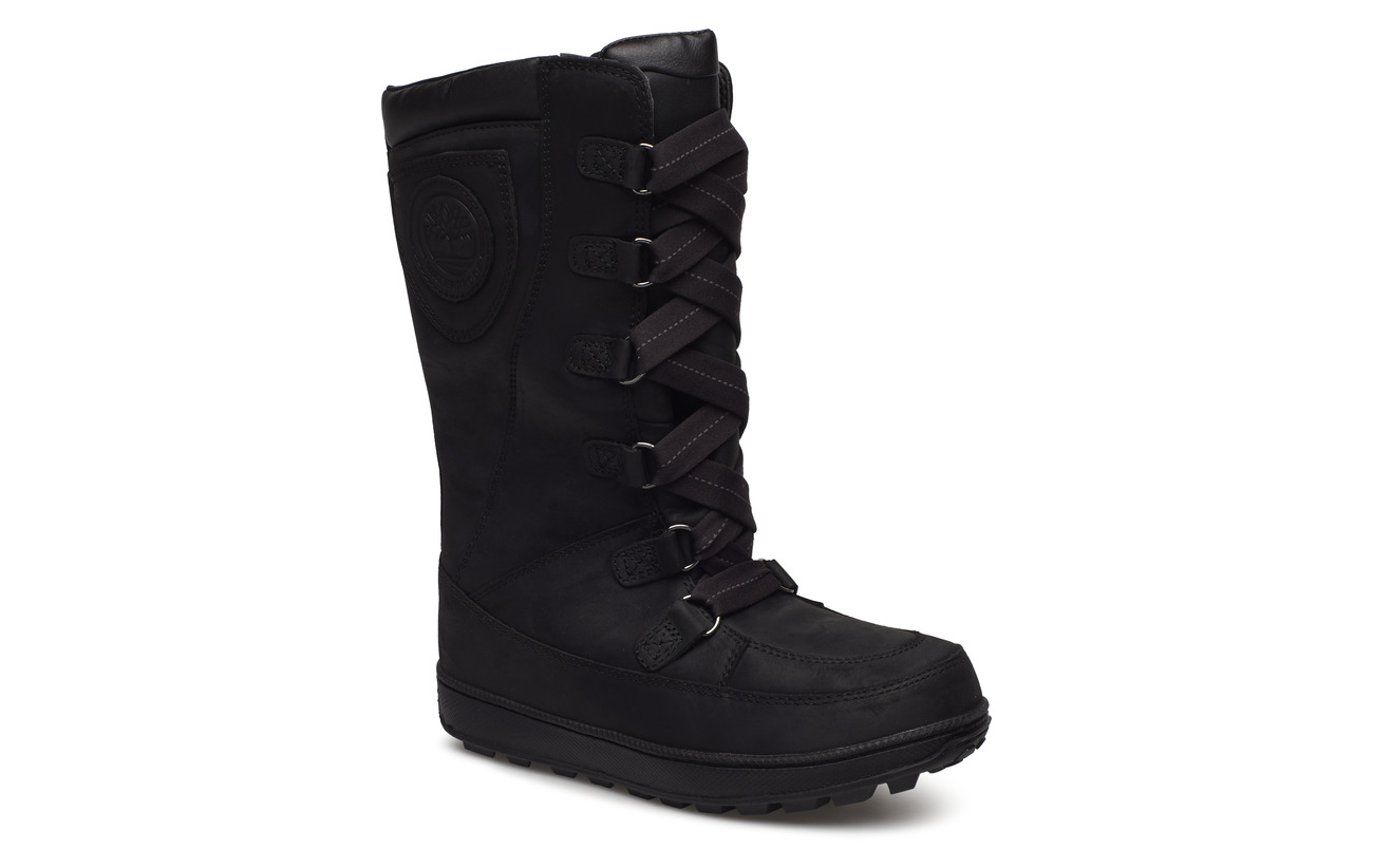 Timberland 8 In Lace Up WP - BLACK