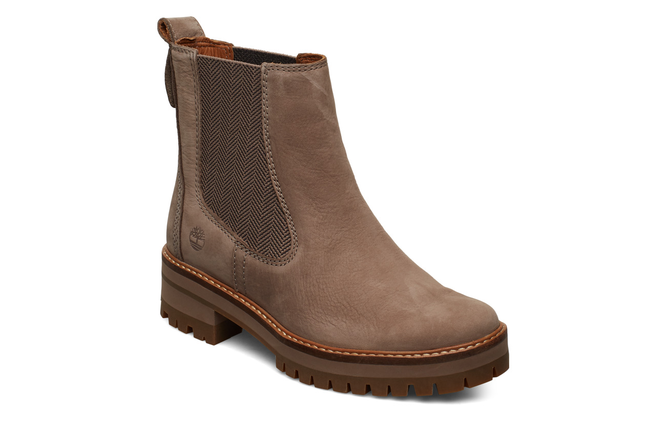 Timberland Courmayeur Valley Chelsea - TAUPE GRAY