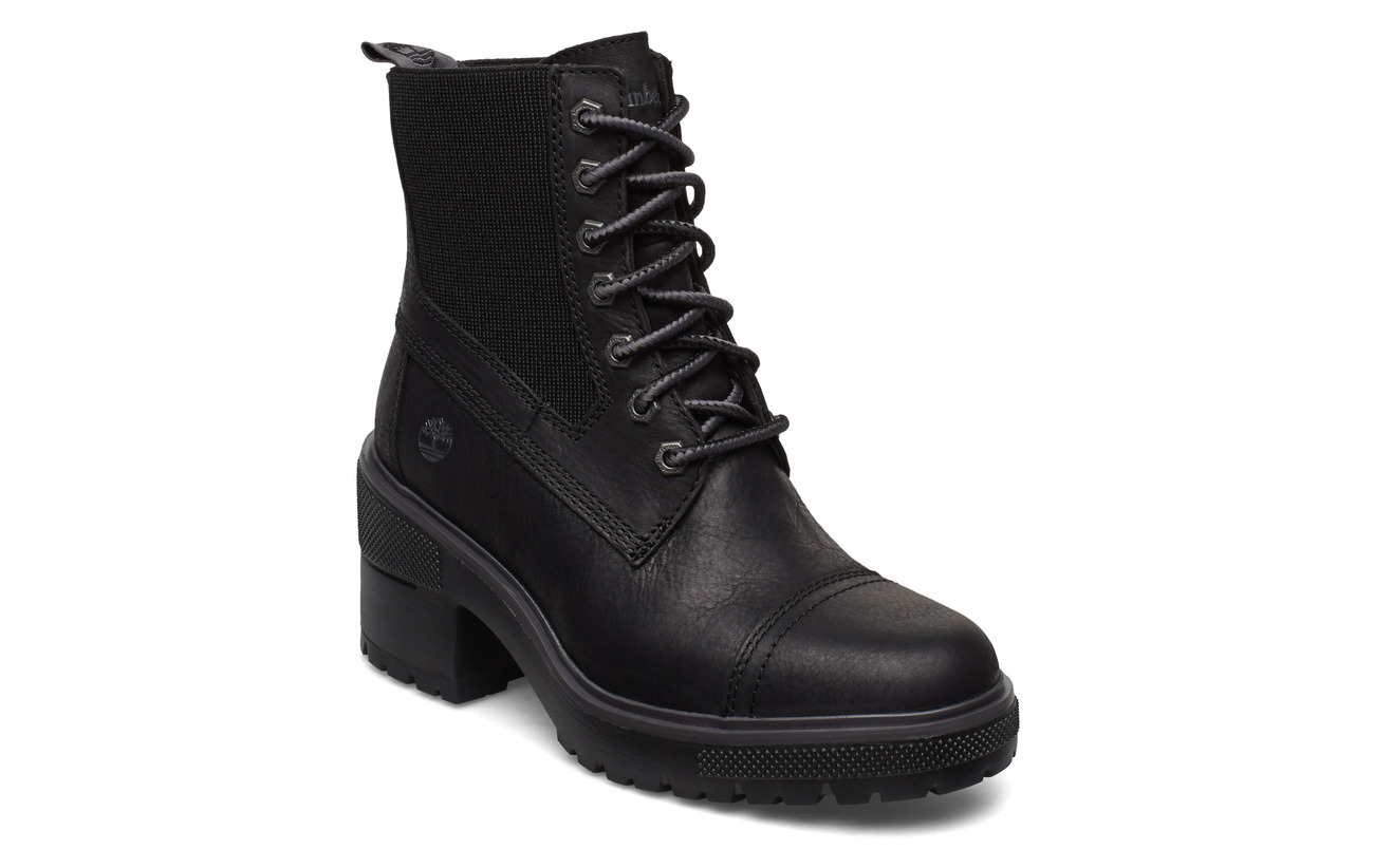 Timberland Silver Blossom Mid Bootie - JET BLACK