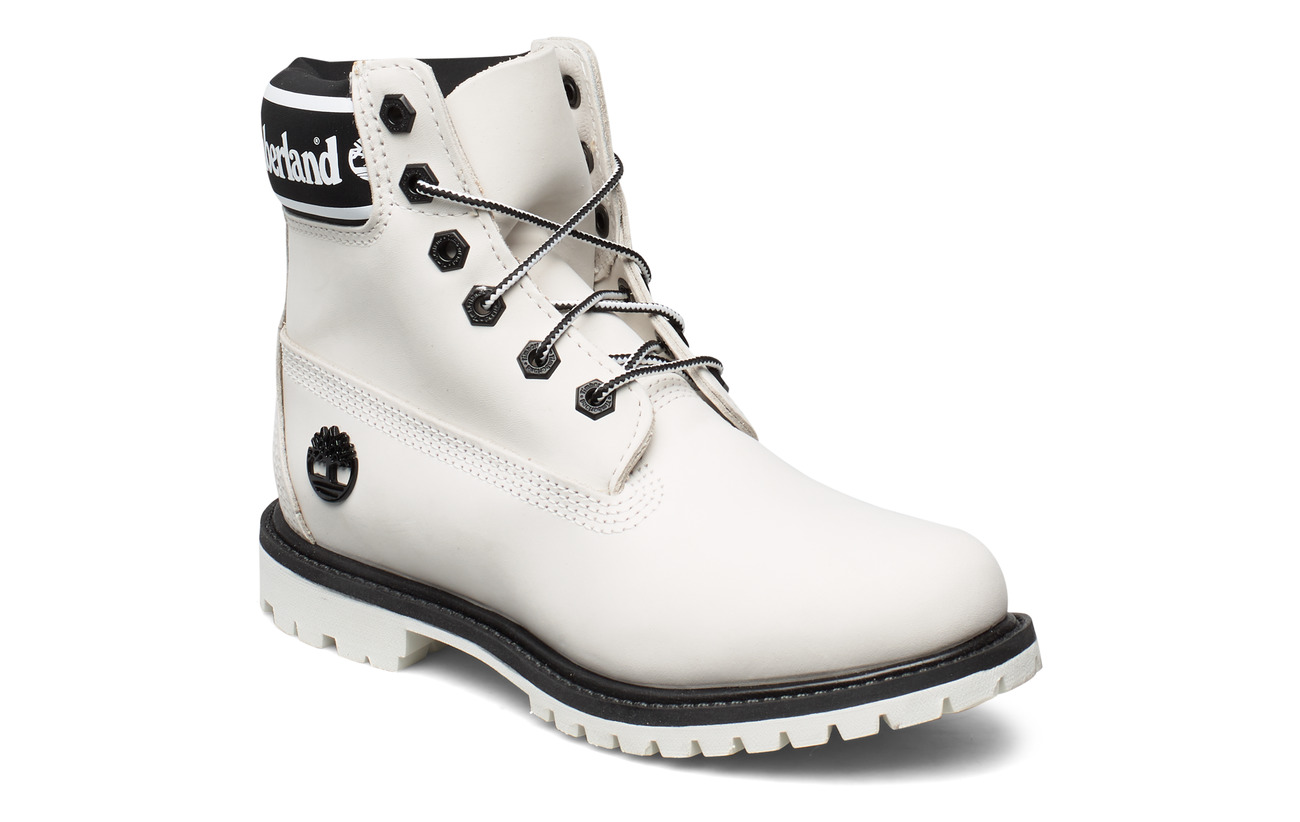 Timberland 6in Premium Boot L/F- W - WHITE