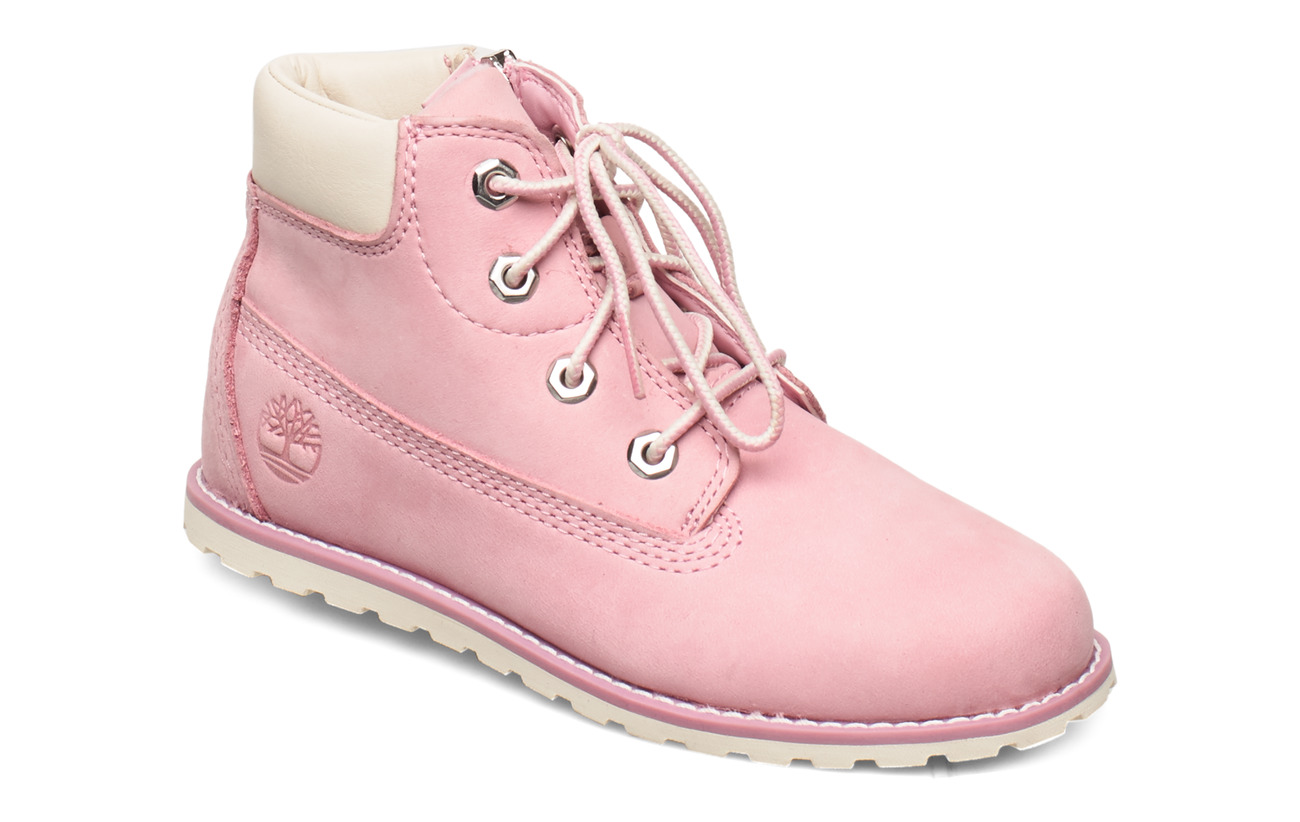 Timberland Pokey Pine 6In Boot with - PINK NECTAR