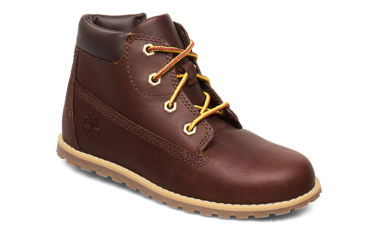 Timberland Pokey Pine 6In Boot with - DARK RUBBER