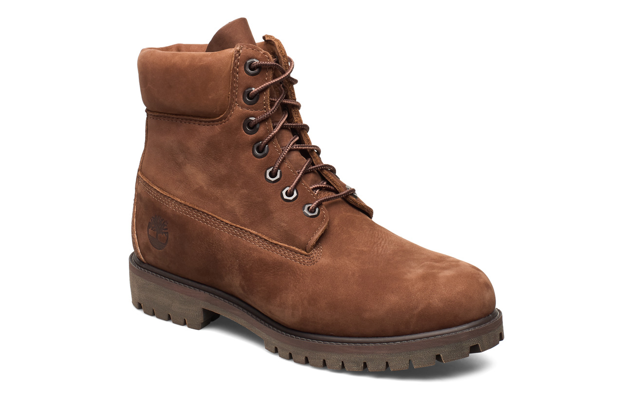 "Timberland 6"" Prem Rubber Cup Bt - COCOA BROWN"