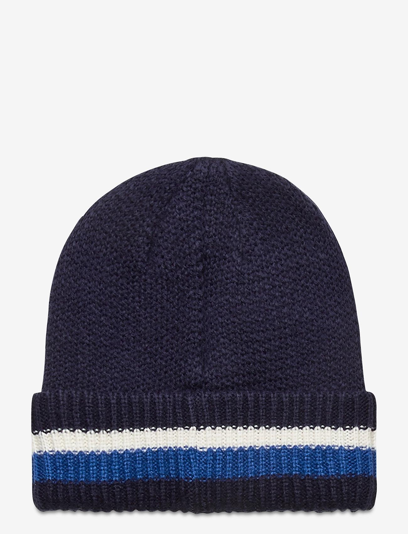 Timberland - STRIPE CUFFED BEANIE NAUTICAL BLUE - bonnet - nautical blue - 1
