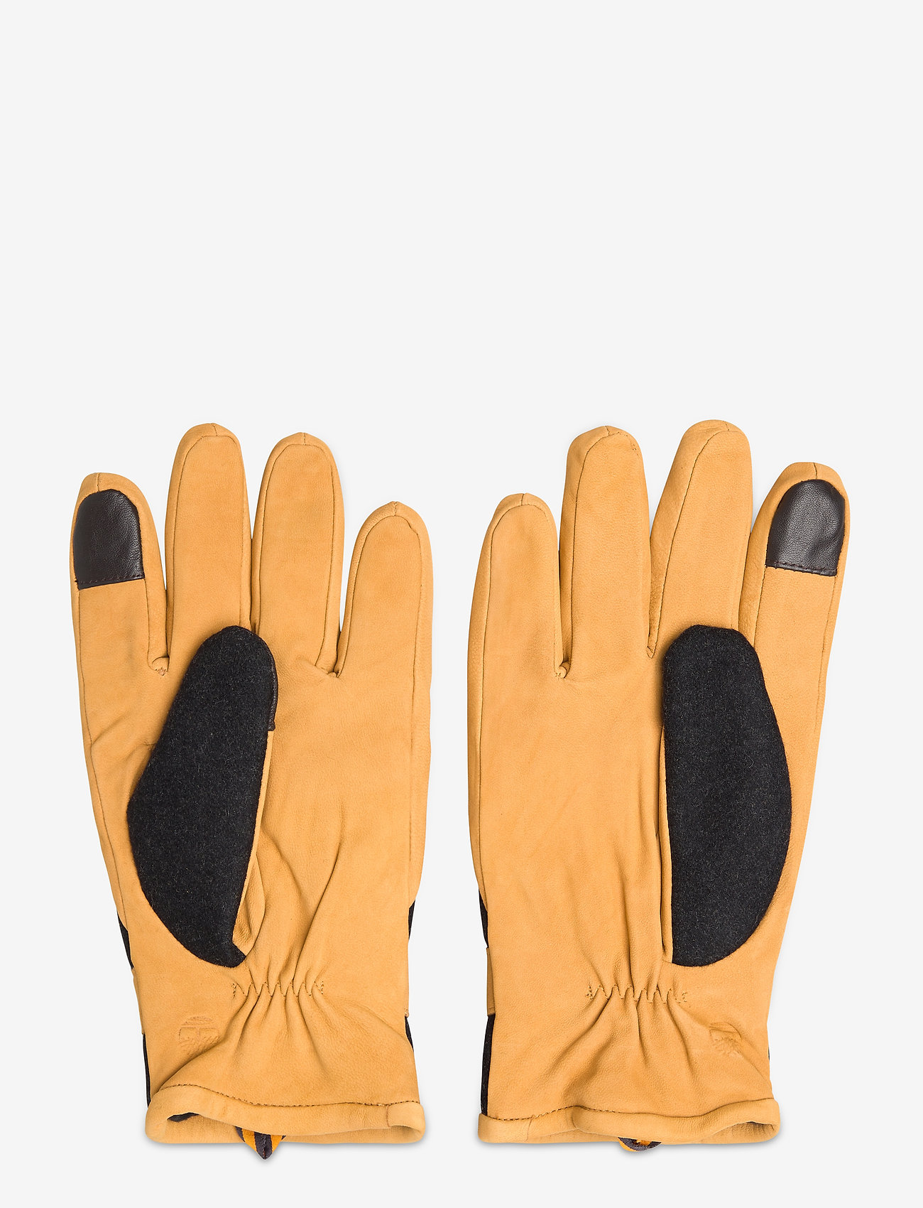 Timberland - Solid Wool Back Glove - hanskat - wheat - 1