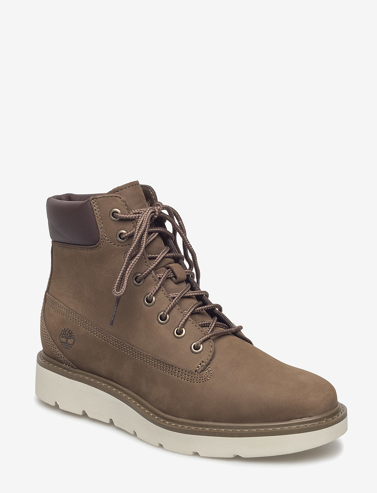Timberland - KENNISTON 6IN - flat ankle boots - canteen - 0