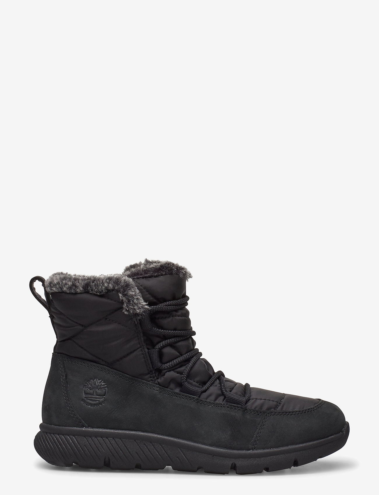 Timberland - BOLTERO WINTER BT BLK - flat ankle boots - black - 1
