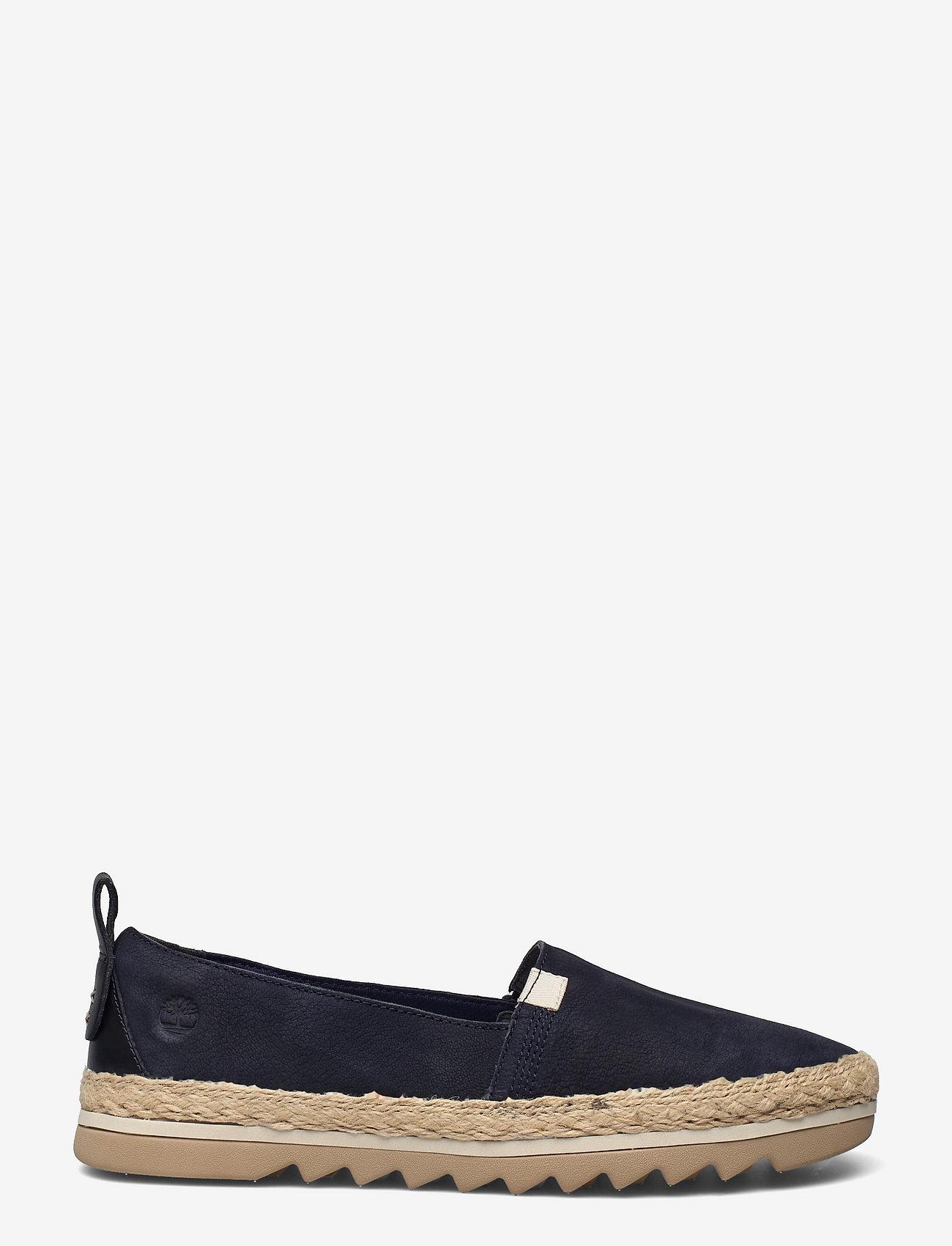 Timberland - Barcelona Bay Classic Leather - flade espadrillos - black iris - 0