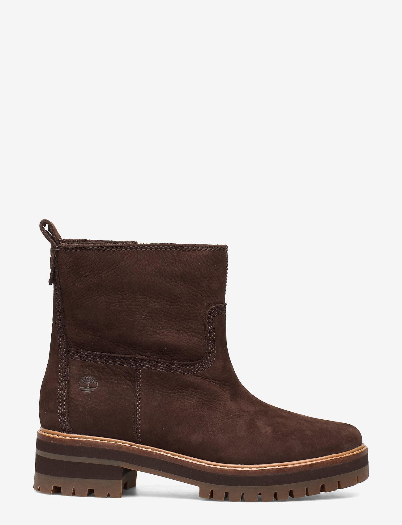 Timberland - Courmayeur Valley FauxFur - flat ankle boots - dark walnut - 0